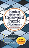 Merriam-Webster's Crossword Puzzle Dictionary, 4th Ed., (Mass-Market Paperback) Newest Edition