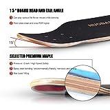 Zoom IMG-2 skateboard standard longboard completamente assemblato