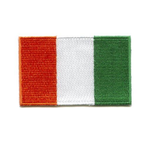 Elfenbeinküste Yamoussoukro Abidjan Flag Flagge Patch Aufnäher Aufbügler K-10