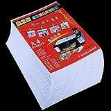 MKOKO 50 Hojas 8.3 x 11.7 Pulgadas A4 Papel Fotográfico Brillante Impermeable for Impresoras de Inyección de Tinta Calidad sin Preocupaciones