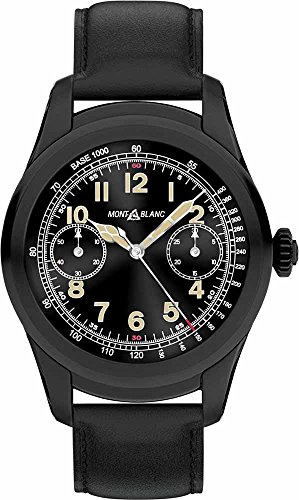 Montblanc Summit Smartwatch Black Steel 117538