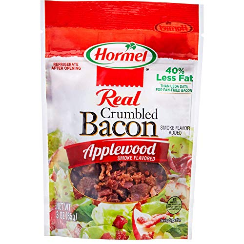 HORMEL Bacon Toppings Applewood Crumbled Bacon, 3 Ounce
