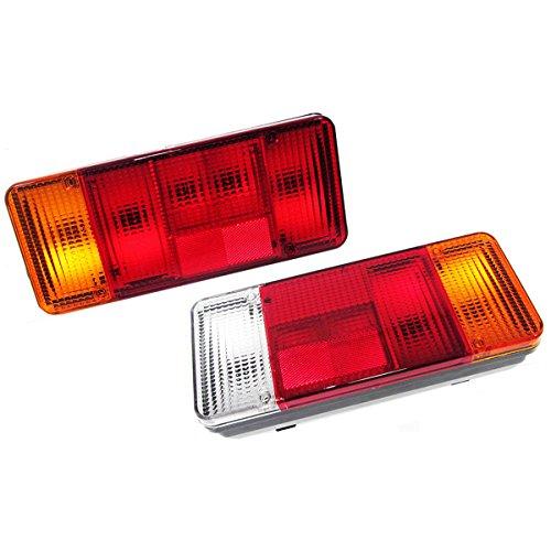 2x 12V 24V LKW Auto PKW KFZ Fahrgestell Anhänger Rückleuchten Heckleuchte Rücklicht