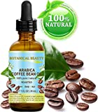 COFFEE BEAN OIL .100% Pure with incredible Coffee Aroma for FACE, BODY, HANDS, FEET, NAILS & HAIR and LIP CARE. Wrinkle Reducer, Anti- Puffiness/Dark Circles, Anti Cellulite. (1 Fl. oz. - 30 ml.)