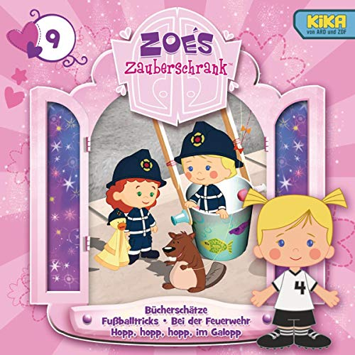 Bücherschätze / Fußballtricks / Bei der Feuerwehr / Hopp, hopp, hopp, im Galopp Titelbild