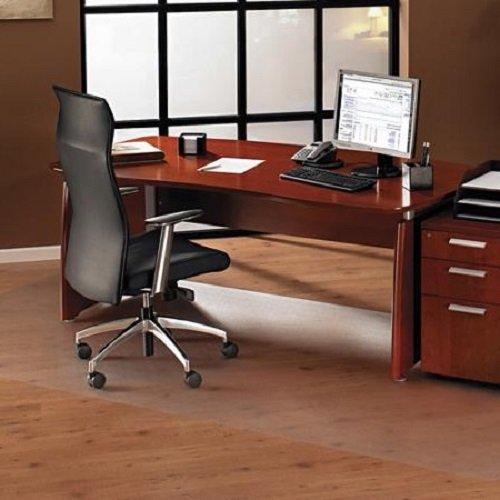 100x100 cm Bürostuhlunterlage gegen Kratzer und Flecken, Schutz Folie halb transparent