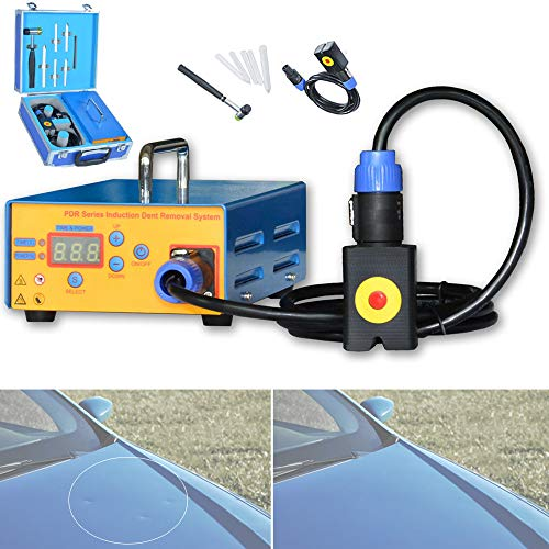 BrightFootBook 1380W Réparation de Bosses de Voiture,Outils de réparation de Bosses sans Peinture Kit de débosselage