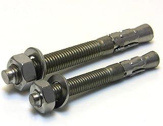 M10x180-3pcs Hohe Qualit/ät Expansionsschrauben Schwerlastd/übel Dehnschraube Bolzenanker KINDOYO M10 Edelstahl Ankerbolzen Silber