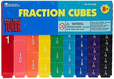 Learning- Bloques Fraction Tower Resources, Color (LER2510) por Learning