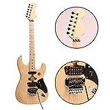 ZUWEI Electric Guitar Kits DIY Guitar ASFKUN, Unfinished Electric Guitar Kits, ASH Body Included Gigbag