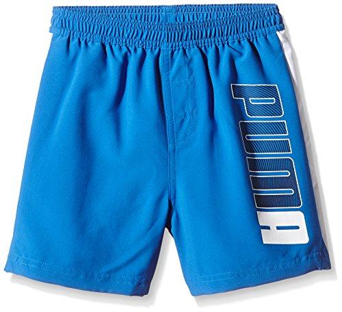 PUMA Jungen Badeshorts Active Beach Shorts M, Strong Blue, 140