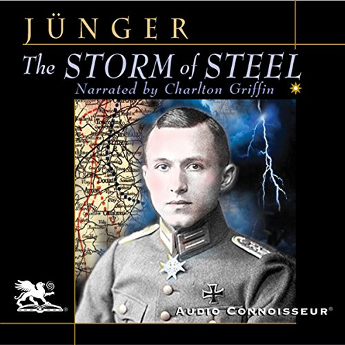 The Storm of Steel audiobook cover art