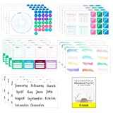 Ultimate Productivity Stickers Set - Large Value Pack of 20...
