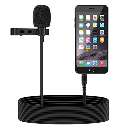 Tonor Micrófono de Solapa 3.5mm