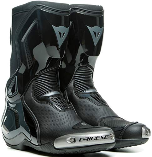Dainese Botas de moto Torque 3 Out Air, color negro/antracita, talla 44