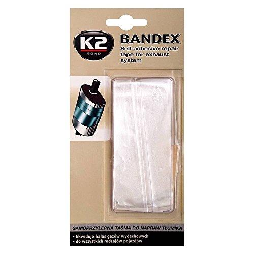 K2 Bandex - Auspuff Reparatur Bandage, Klebeband hitzebeständig