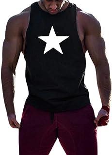 1f333723e95d Canotta Uomo Bodybuilding VJGOAL Dimagrante Snellente Beast Traspirante  Elasticizzata da Sudare Smanicato Gilet Jeans Canottiera Palestra