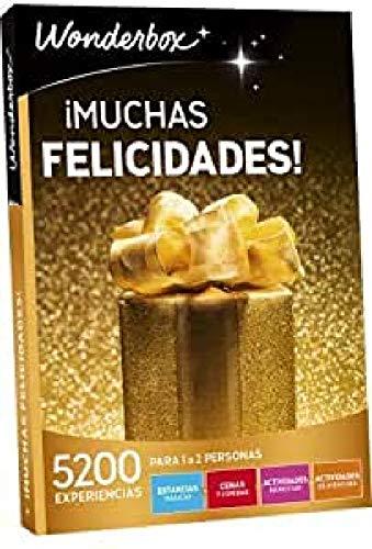 WONDERBOX Caja Regalo para mamá -¡Muchas FELICIDADES!- 5.200 Actividades para Dos Personas