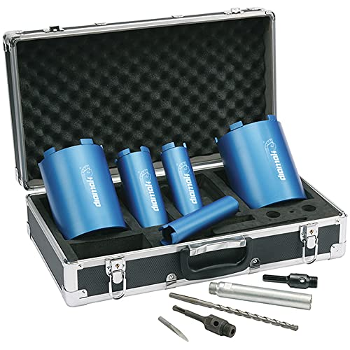 Makita P-74712 Diamak Dry Diamond Core Drill Set (10 Pieces)