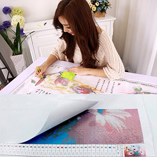 DIY 5D Diamond Painting by Number Kit, Full Drill Ocean Turtle Rhinestone Embroidery Cross Stitch Pictures Arts Craft for Home Wall Decor 11.8x15.8 inch