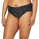 Pour Moi? Mini Maxi Fold Over Brief Braguita de Bikini, Negro (Black Black), 75 (Talla del Fabricante: 16) para Mujer