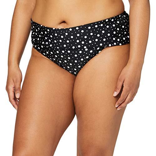 Pour Moi? Mini Maxi Fold Over Brief Slip Bikini, Nero (Black Black), 0 (Taglia Produttore: 16) Donna