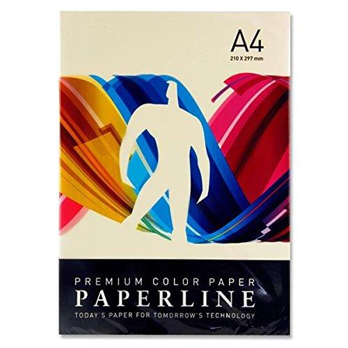 Paperline A4 80 g/m² Kleurpapier - Canarische (Pack van 500)-P Ivoor