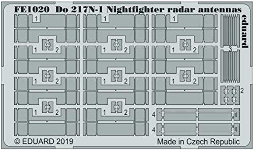 (EDPFE1020) - Eduard Photetch (Zoom) 1:48 - Do 217N-1 Radar Antennas