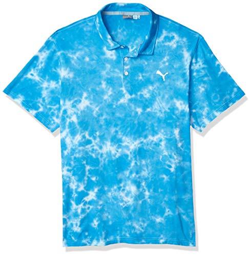PUMA Golf 2020 Mens Haight Polo Ibiza Blue x Large
