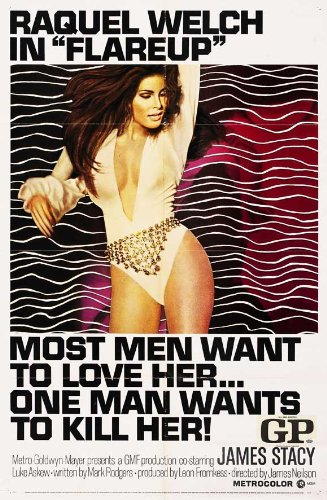 Flareup Movie Poster (27 x 40 Inches - 69cm x 102cm) (1970) -(Raquel Welch)(James Stacy)(Luke Askew)(Don Chastain)(Ron Rifkin)(Jeane Byron)