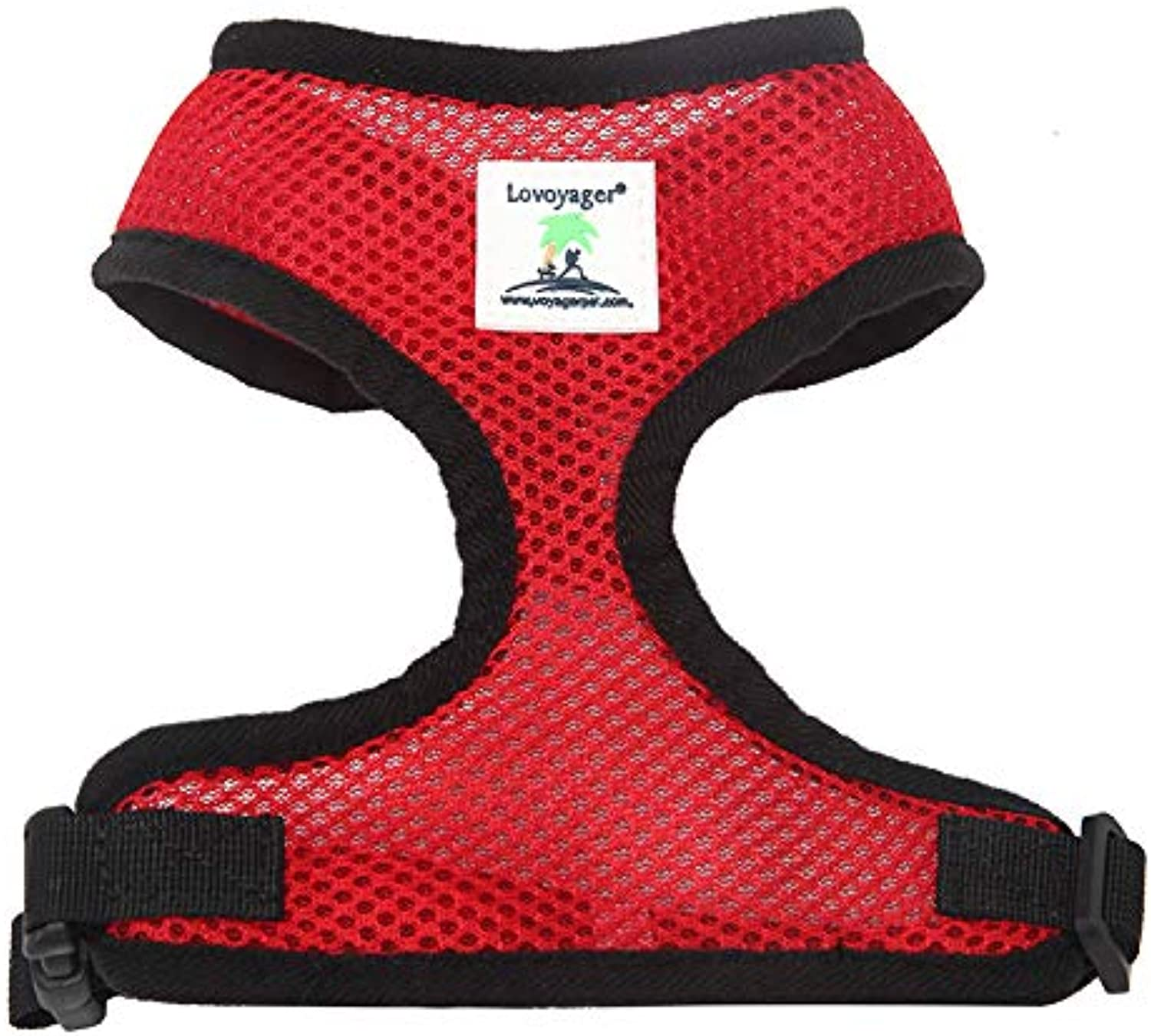 LOVOYAGER Soft, Comfort Small Dog Harness, NoPull Pet Harness