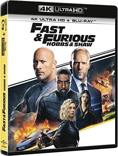 Fast & Furious: Hobbs & Shaw (4K Ultra HD + BD) [Blu-ray]