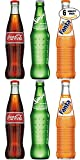 Mexican Coke Fiesta Pack - Coca-Cola x2, Sprite x2, Fanta x2 Mexican Coke Fiesta Pack Mix Is A Perfect Bold Refreshment For All Parties, Events, & Social Gatherings! Perfect Size For Drinking With Meals, On The Go, Or Any Time Made With Pure Cane Sug...