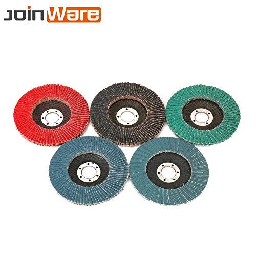 Purchase Xucus 5Pcs Flap Discs 125x22x17mmmm Sanding Discs 80 Grit Flap Sanding Disc Sandpaper Wheel...