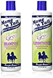 The Original Mane 'n Tail Olive Oil Complex – Herbal Gro Shampoo + Conditioner – Strengthens & Nourishes – Reduces Breakage – 12 Oz - 2-Pack