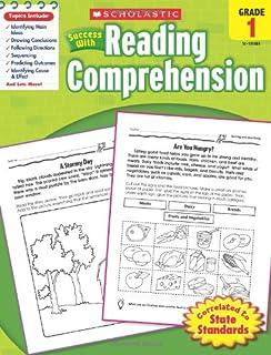 Scholastic Success with Reading Comprehension, Grades 1