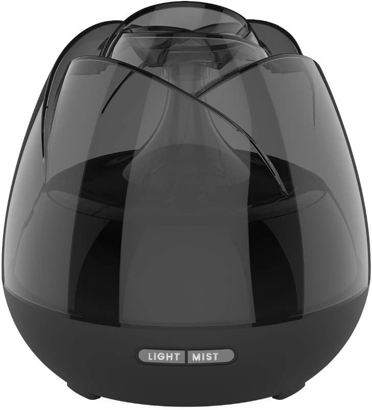 Max 57% OFF SCZZ Aromatherapy Diffuser Humidifier Sacramento Mall Rose Ultra 400Ml Romantic