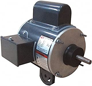 Dayton 1/2 HP Pedestal Fan Motor, Permanent Split Capacitor, 1100 Nameplate RPM,208 Voltage, Frame 48YZ