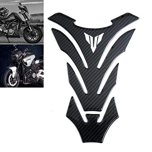 Carbon Fiber Motorcycle Fuel Oil Gas Tank Pad Protector Sticker Decals Universal Carbon Fiber Tank Pad
