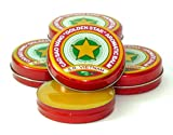 12 Boxes X 3 Grams (Net Weight), Golden Star Balm, Cao Sao Vang Vietnam, Aromatic Balsam