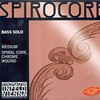 CUERDA CONTRABAJO - Thomastik (Spirocore Solista/S37S) (Acero/Aluminio) 2ェ Medium Bass 4/4 E (Mi)