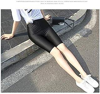XSWY Plus Size Biker Shorts 5XL 2020 Jogger Shorts Cycling Dancing Gym Biker Shorts Slim Active Sports Oversized Streetwear (Color : Black, Size : 4XL)