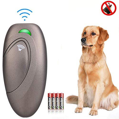 Ultraschall Hunde Repeller und Trainer Gerät Anti Bellen Stop Rinde Handheld Hunde Trainingsgerät Anti-Bell Ultraschall Gerät für Hunde Bellkontrolle 100% sanft & sicher