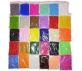 600g 2mm cuentas de semillas 30 colores 45000 piezas cuentas de vidrio redondas No12 mini cuentas Rocailles Seed Beads Z23