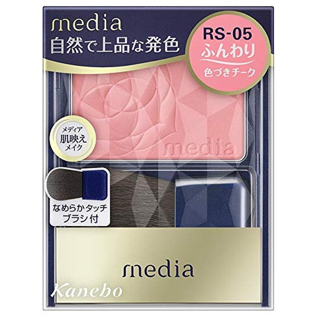 シュガーエレクトロニックディスコカネボウ メディア ブライトアップチークN RS05