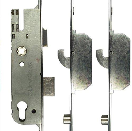 GU G4 Style - Cerradura de reparación (3 piezas, 2 ganchos, 2 rodillos, 55 mm)