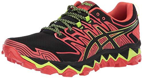 ASICS Men's Gel-Fujitrabuco 7 Running Shoes, 10M, RED Snapper/Black