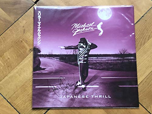 MICHAEL JACKSON LIVE IN JAPAN JAPANESE THRILL 2 LP SET RARE!
