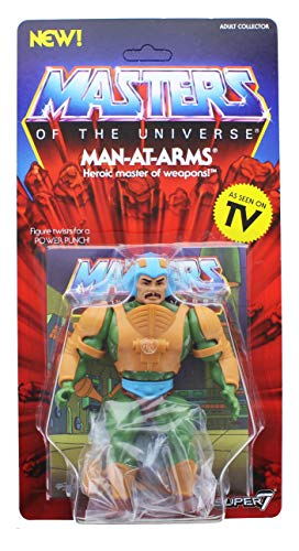SUPER7 ACTIONFIGUREMANIA Man-AT-Arms Motu Master of The Universe Wave 2