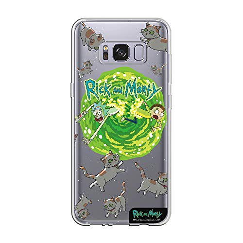 Capa Celular Cats Rick and Morty Samsung S8, Beek Geek's Stuff, Capa Protetora Flexível, Transparente